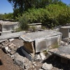 Grave Sites 3,  Borgel Jewish Cemetery at Tunis, Tunisia, Chrystie Sherman, 7/19/16