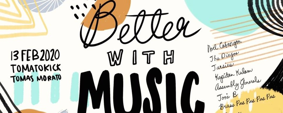 Better With Music - A Fundraising and Send-Off Gig