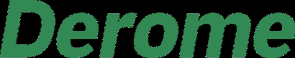 Grön logotyp digital Derome