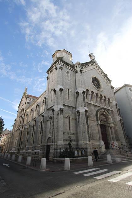 Eglise Notre-Dame de Bon-Voyage, Cannes (Fr)