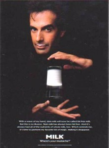 david copperfield got milk