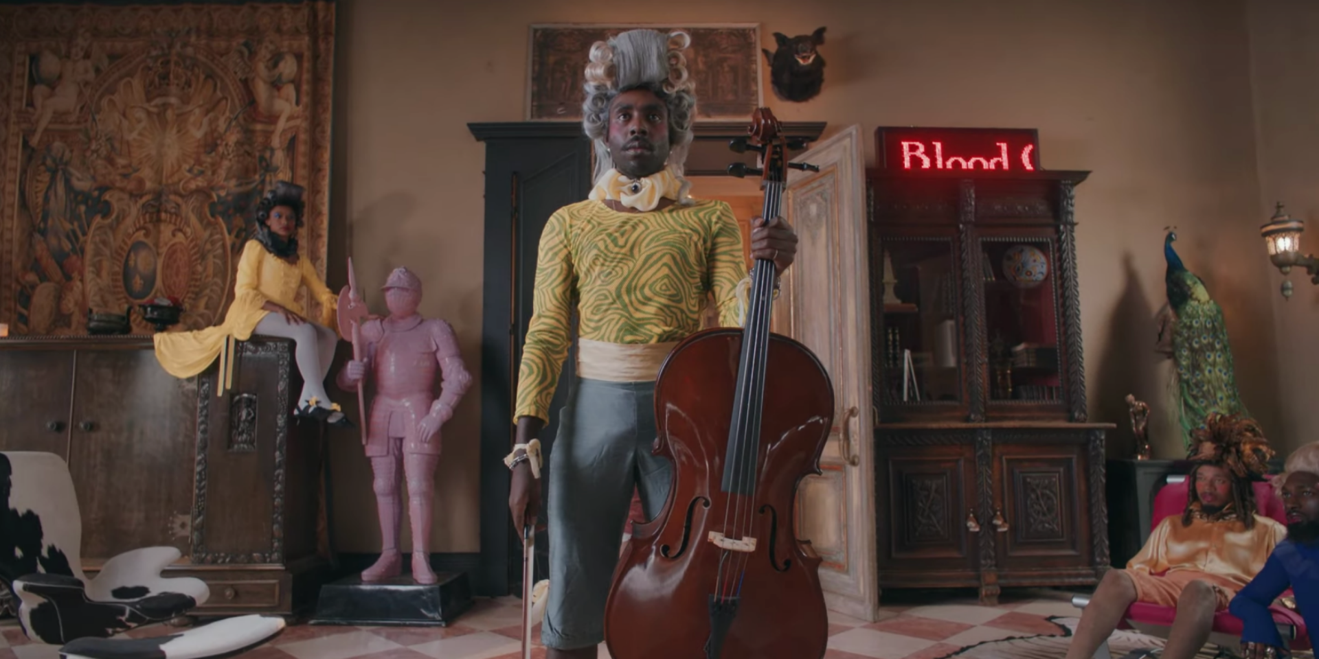 Blood Orange releases new 'Benzo' video, set in a royal court – watch