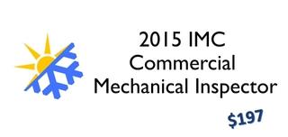 2015 IMC- Commercial Mechanical Inspector