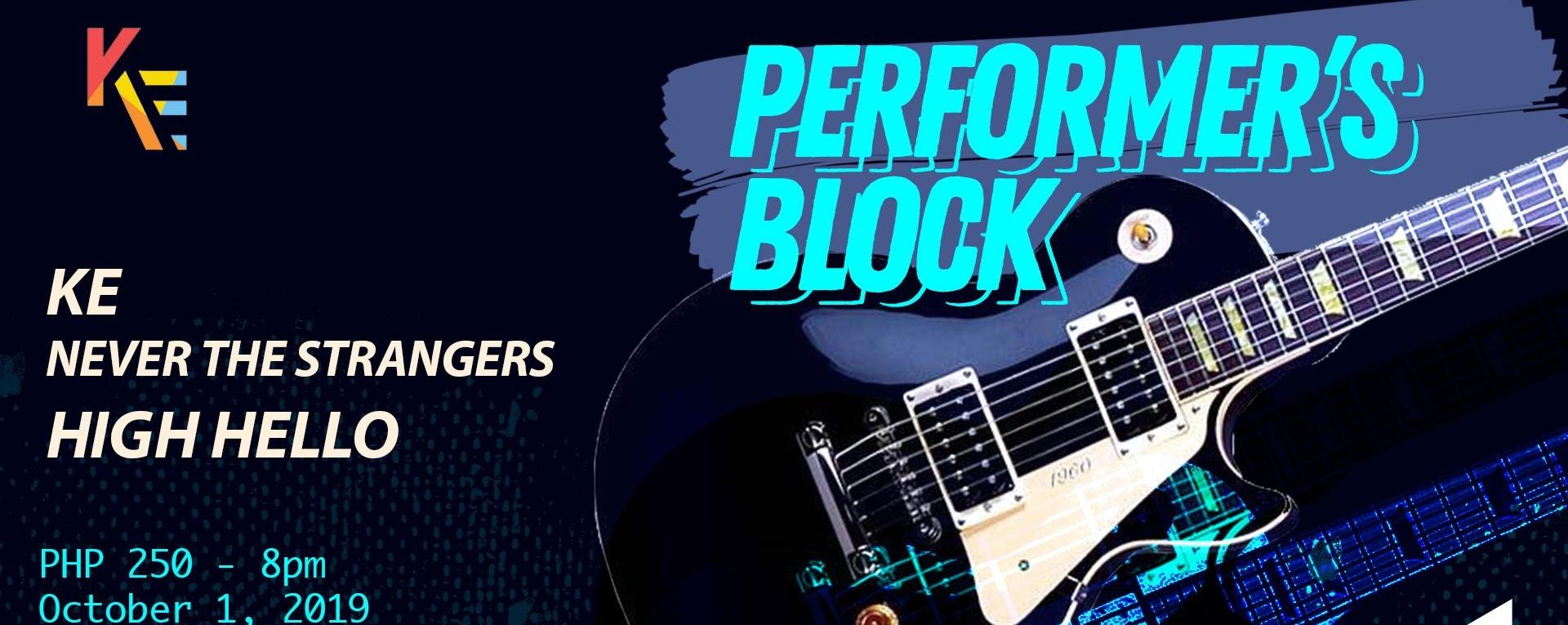 Performer's Block
