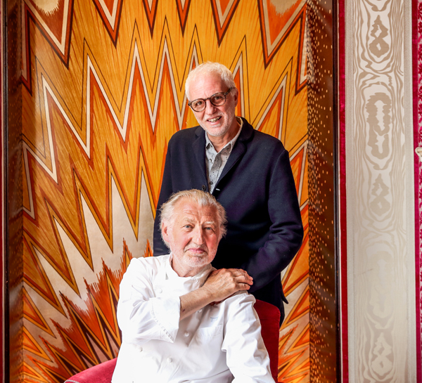 Mourad Mazouz and Pierre Gagnaire