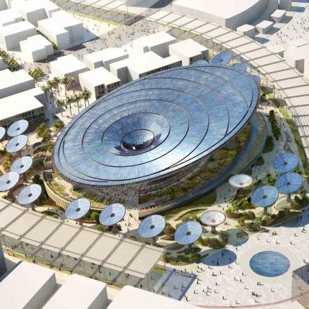 Dubai New Year's - World Expo