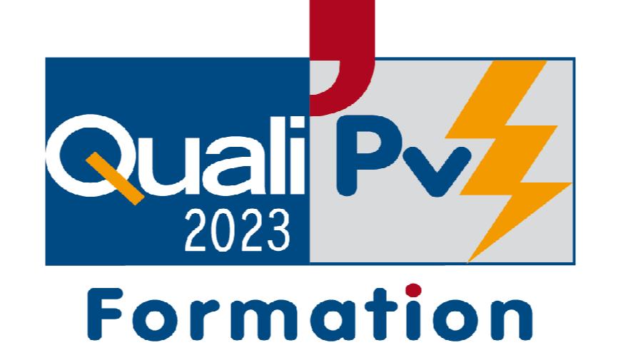 Représentation de la formation : QualiPV Elec : mention générateur photovoltaïque raccordé au réseau (CFC 19)