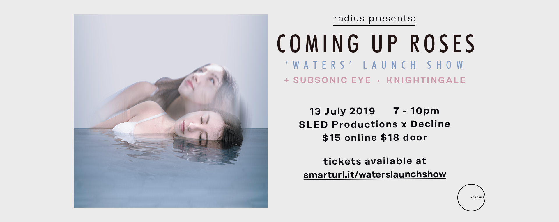 Coming Up Roses: 'Waters' Album Launch