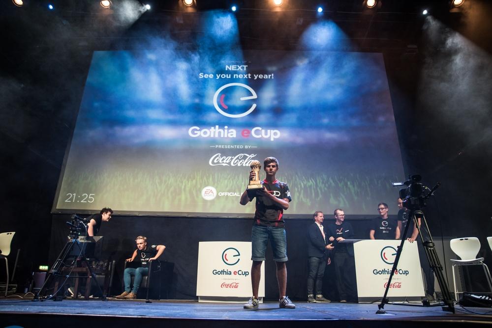 Gothia eCup winner 2017, Rasmus Nyström