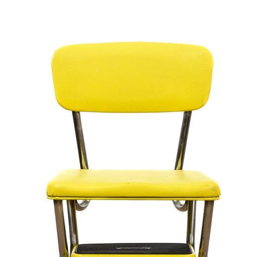 Mid Century Modern Yellow Quot Cosco Quot Step Stool Loveseat