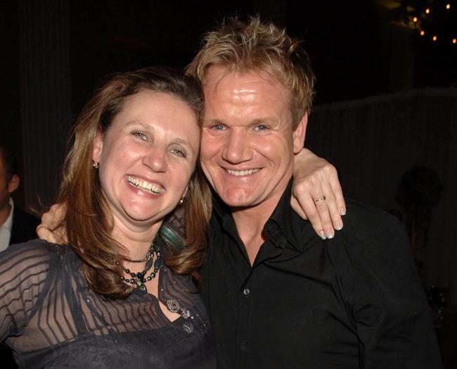 Angela Hartnett and Gordon Ramsay, 2006
