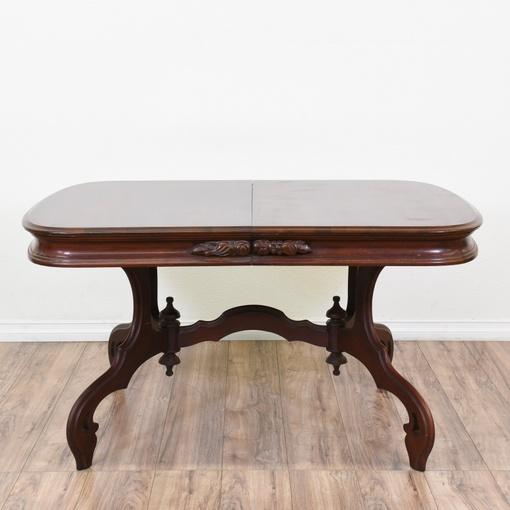 Farmhouse Round Dining Table Loveseat Vintage Furniture
