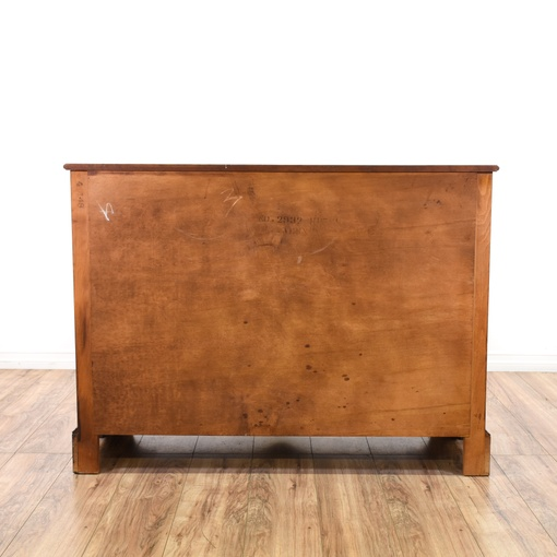 Antique Farmhouse Country Carved Buffet