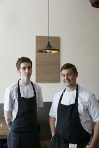 Sam Ashton-Booth and Mark Jarvis
