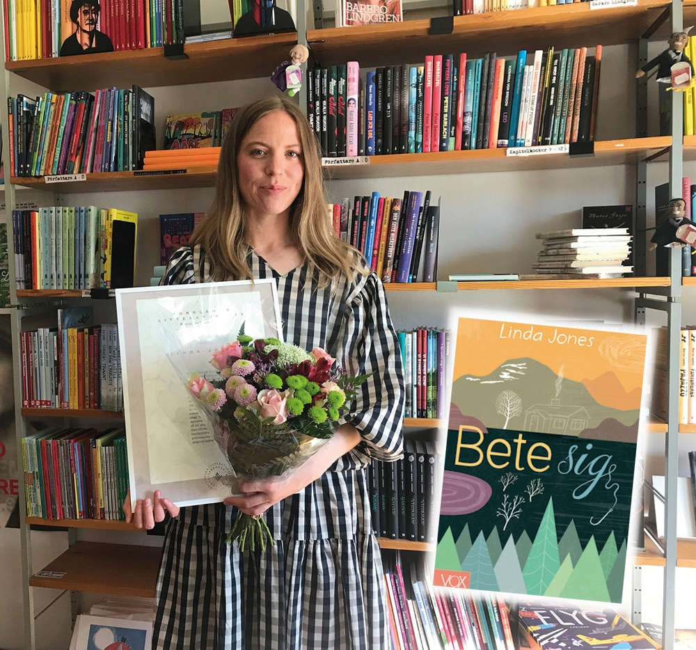 linda jones vinnare av norrlands litteraturpris