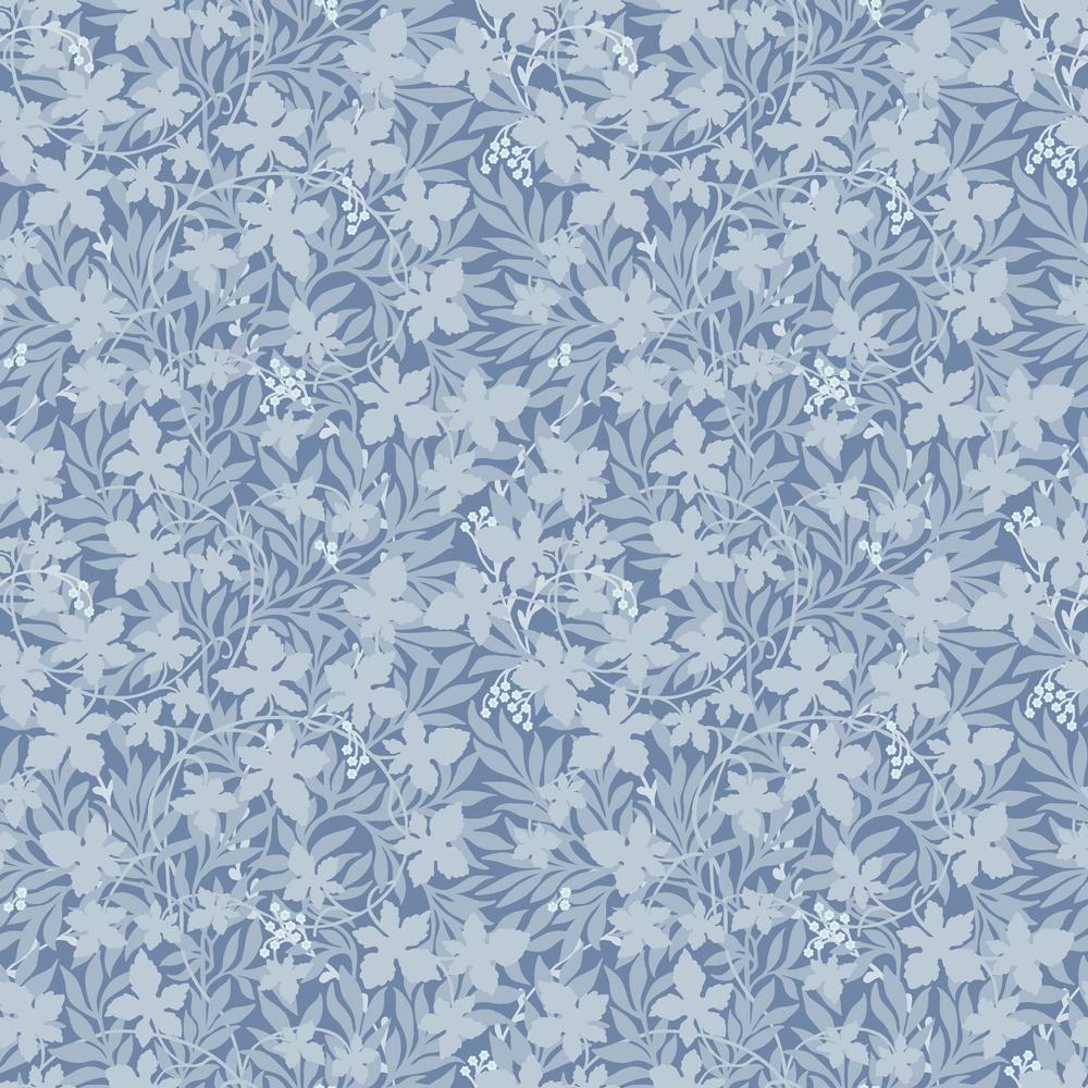 367-04 Vinbärsblad Blå
