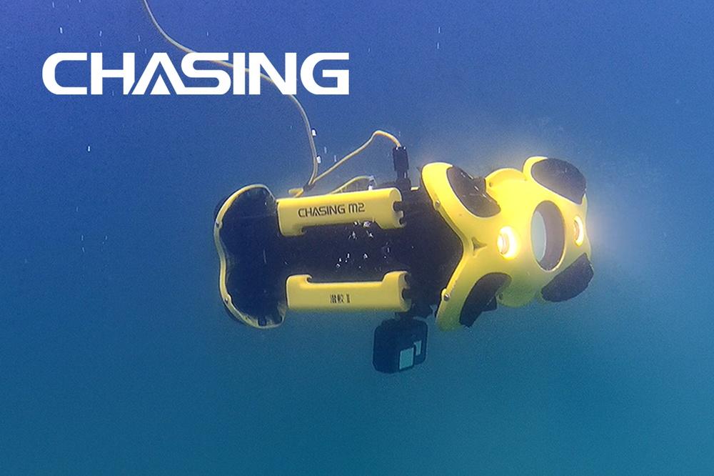 Professionell undervattens-drönare från Chasing