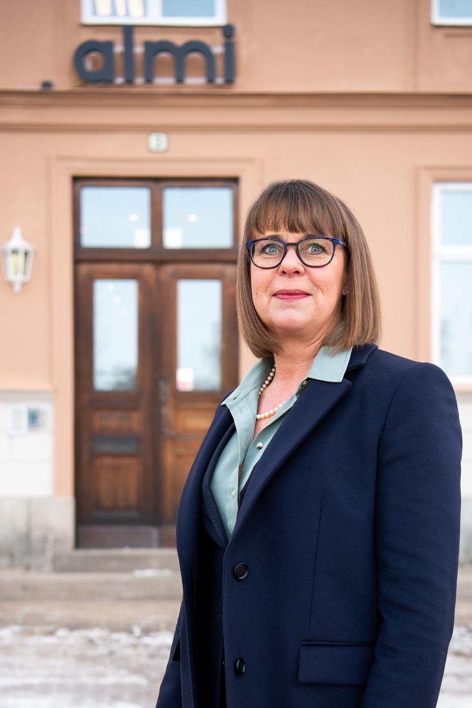 Anna Lundmark Lundbergh, vd Almi Värmland och ansvarig för styrelsekartläggningen