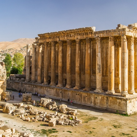 Baalbek - Temple of Bacchus