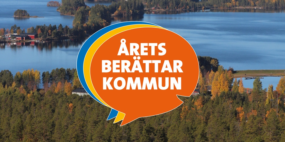 Storuman – Årets berättarkommun i Västerbotten 2021/22.