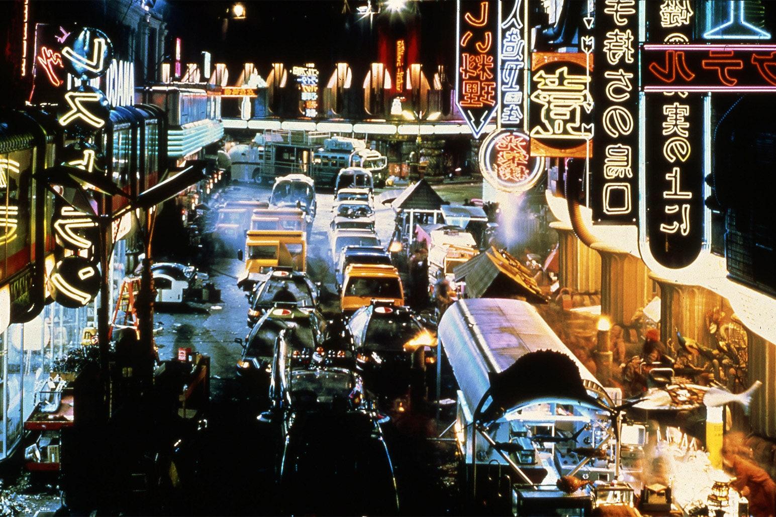 Blade Runner's depiction of San Francisco