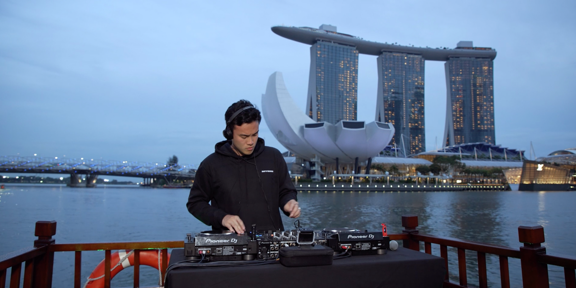 MYRNE wows in live sunset performance on Singapore Riverboat Cruise in final episode of video series