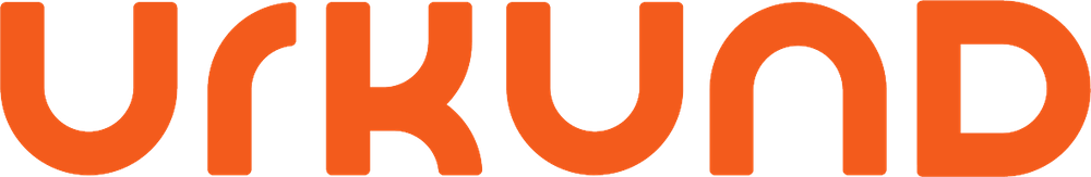 The official Urkund logotype / wordart.