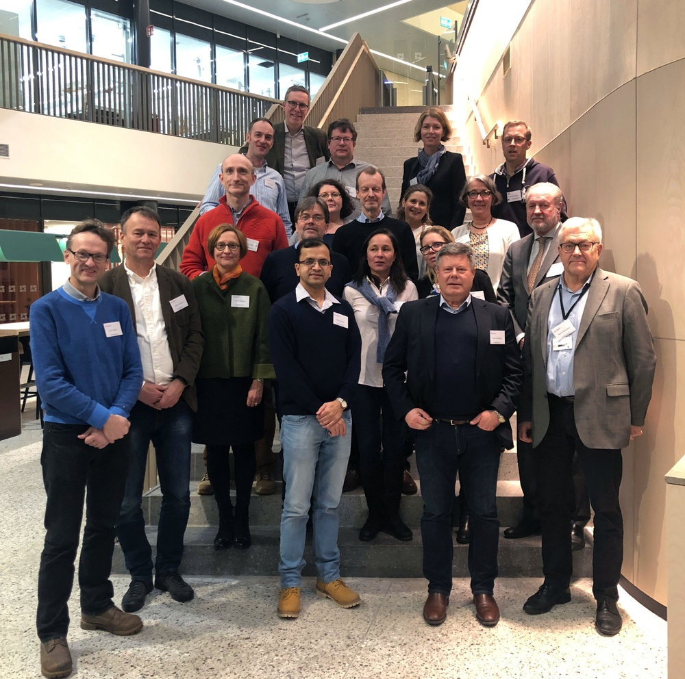Participants at the 2019 Kick off meeting at Biomedicum, KI Campus Solna