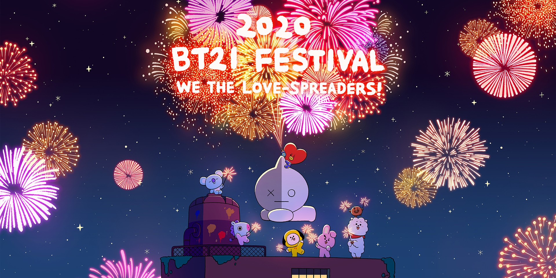 Celebrate the 3rd anniversary of BT21, BTS' LINE FRIENDS characters, this December with the 2020 BT21 Festival