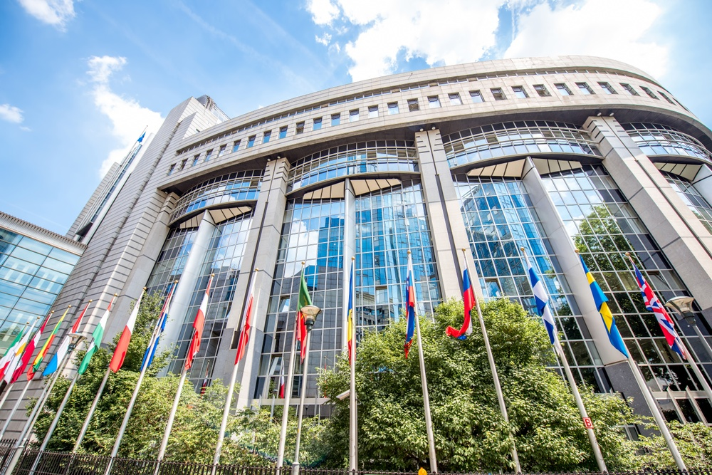 Europaparlamentet i Bryssel.