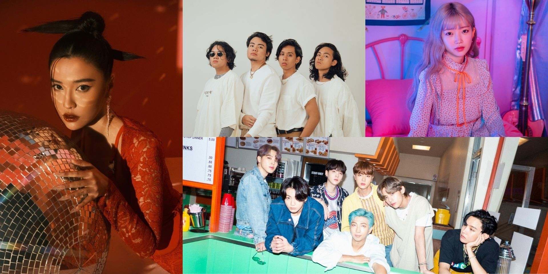 8 retro-inspired Asian songs for getting your groove on — including tracks from BTS, YUKIKA, One Click Straight, and more