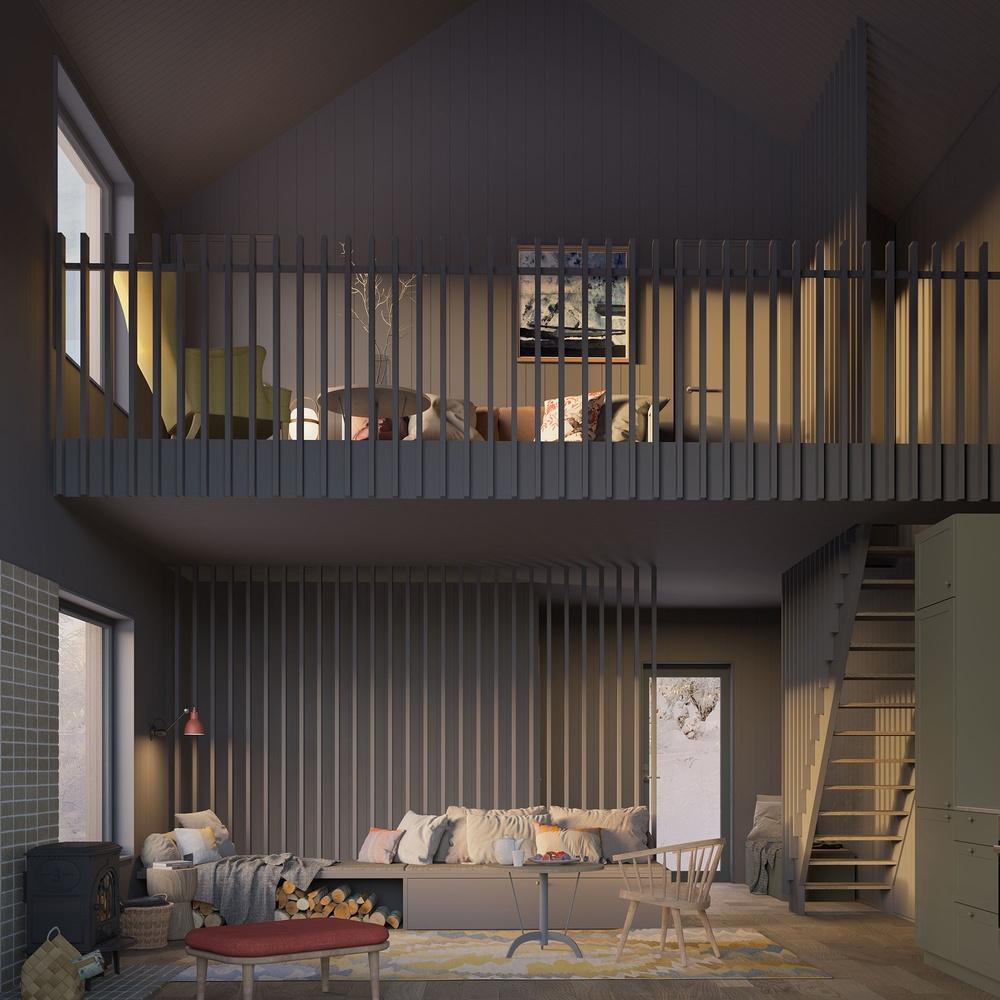 Nya bostäder i Tänndalen - Fjällöga