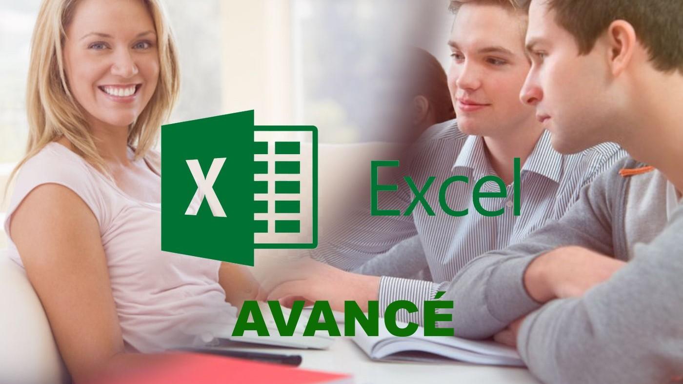 Représentation de la formation :  Tableur : Excel - avancé
