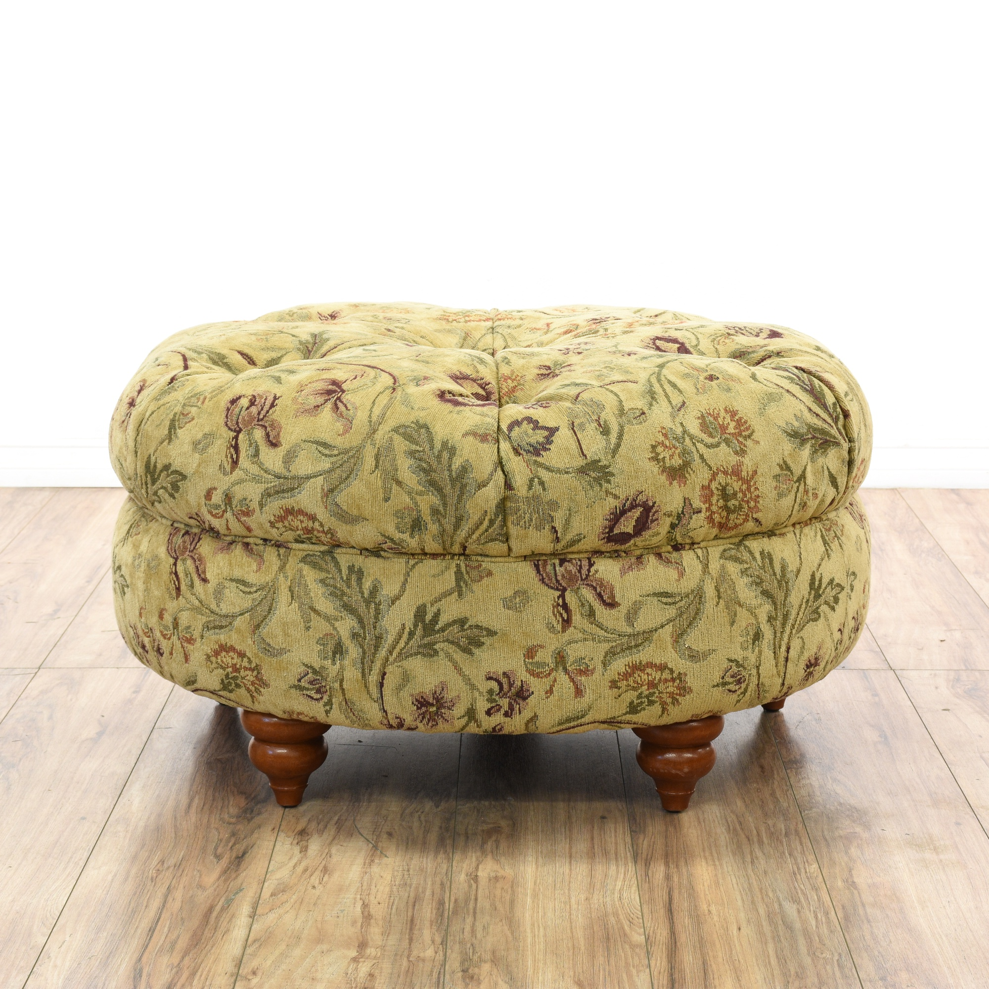 and world xxx green tufted with uphostered category kaylyn bolsters do bench market ottomans floral ottoman living forest furniture benches room storage