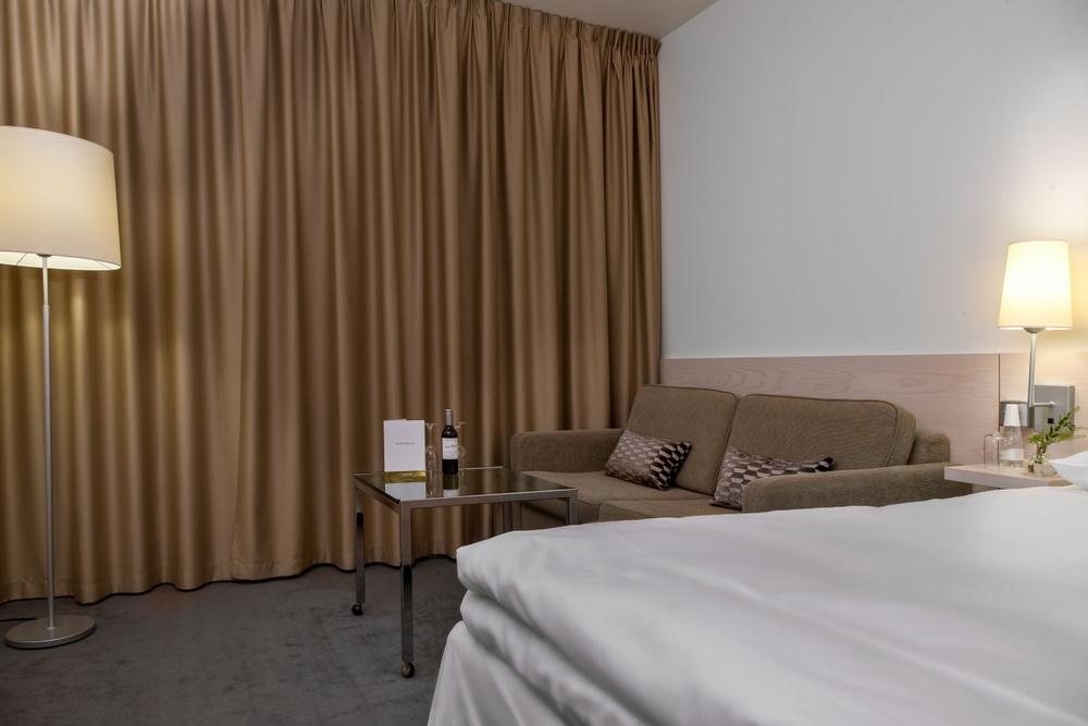 Hotel Riverton i Göteborg - Dubbelrum med soffgrupp
