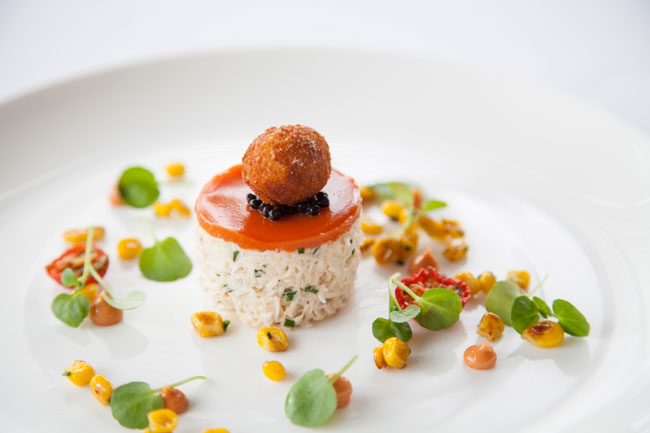 crab-with-tomato-sweetcornand-a-crab-fritter
