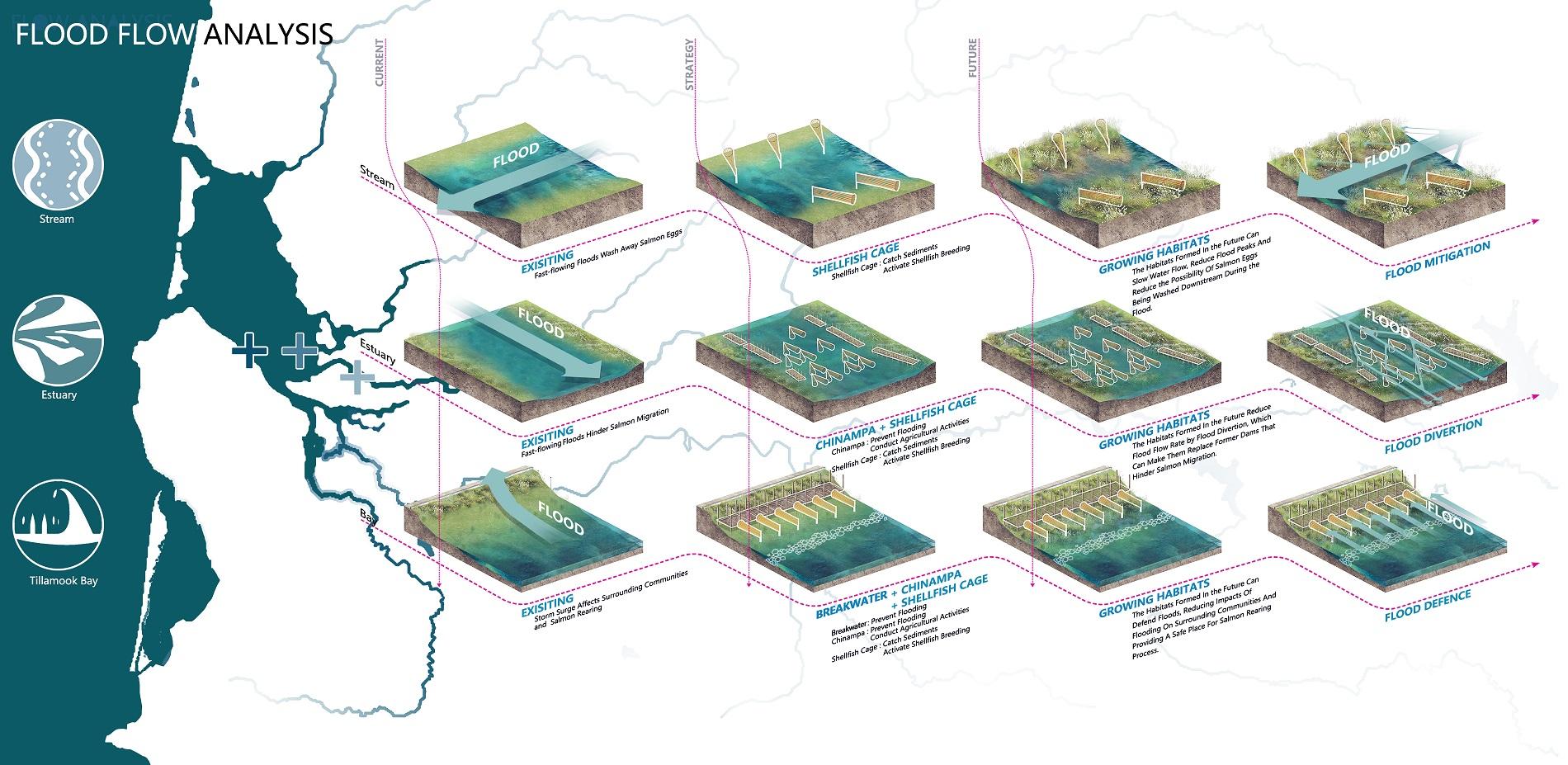 Flood flow analysis
