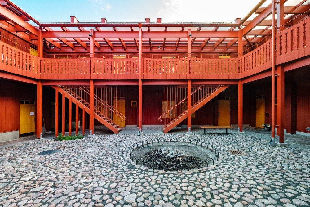 Ciselören - vinnare av Rödfärgspriset 2020 Arkitektkontor: Okidoki Arkitekter FOTO:Johan Lindqvist