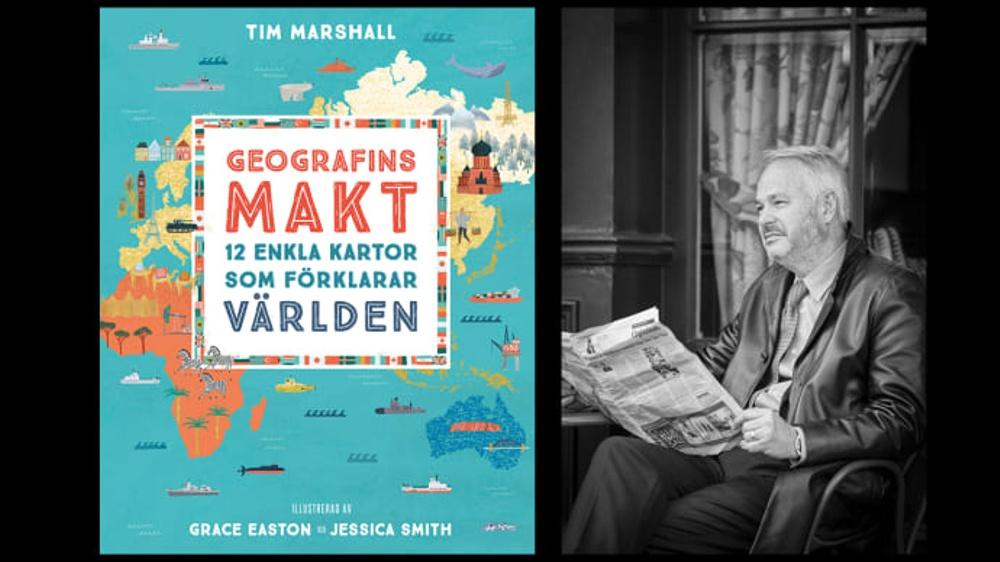 12 enkla kartor förklarar världen med hjälp av världskorrespondenten Tim Marshall