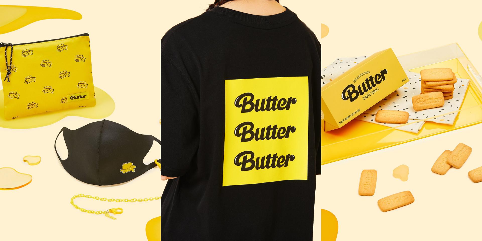 BTS unveil 'Butter' merch – butter cookies, shirts, face masks, and more