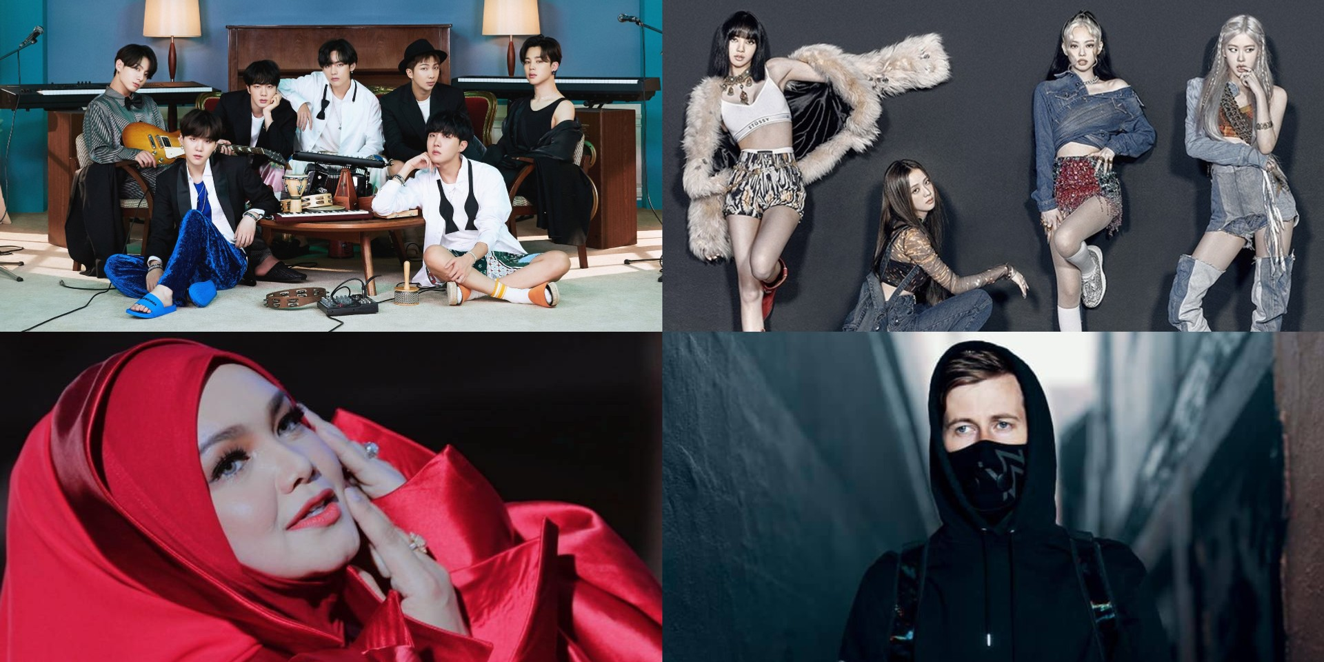 JOOX unveils 2020 Music Annual Review, BTS, BLACKPINK, Dato' Sri Siti Nurhaliza, and Alan Walker among top-streamed artists in Malaysia