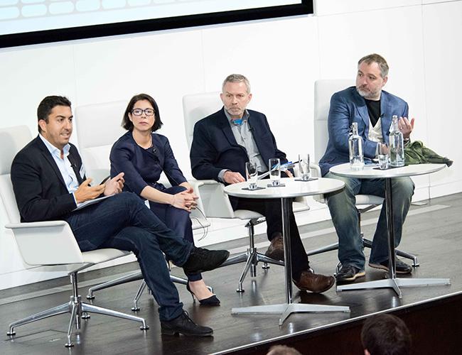 Steve Lowy, Suzie Thompson, Fergus Boyd and Nick Davies