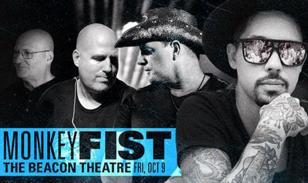 BT - Monkey Fist - October 9, 2020, doors 6:30pm