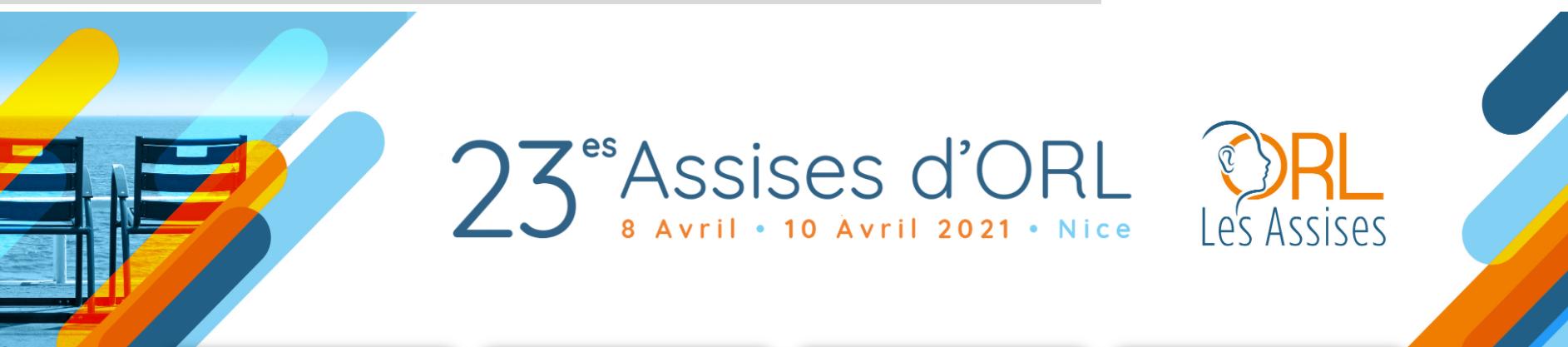 Les 23èmes assises ORL de Nice fixées au 8 avril 2021