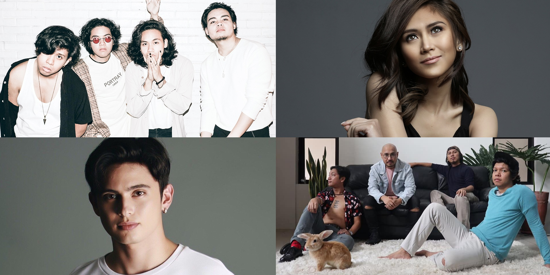 One Click Straight, Giniling Festival, James Reid, Sarah Geronimo, and more release new music