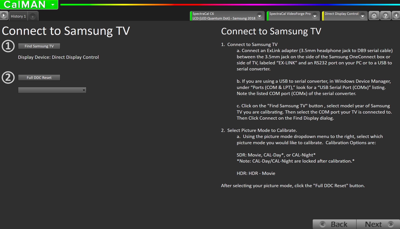 CalMAN Home for Samsung Walkthrough