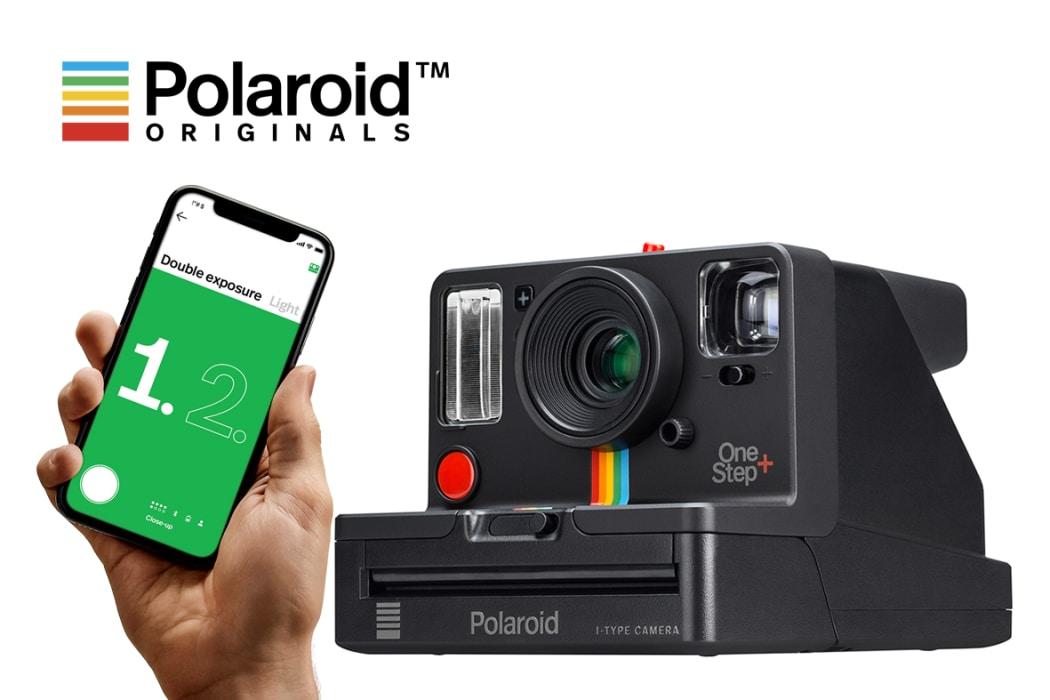 Polaroid Originalals jaunā OneStep + analogā kamera ar integrētu viedtālruņa aplikāciju.