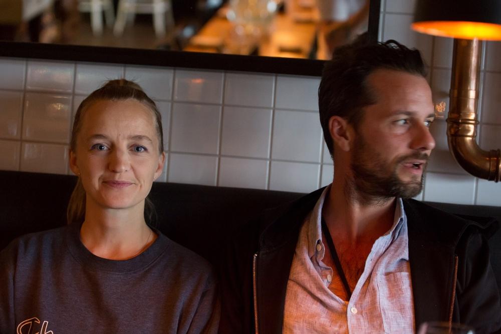 Lisen Ellard och Mattias Lech.