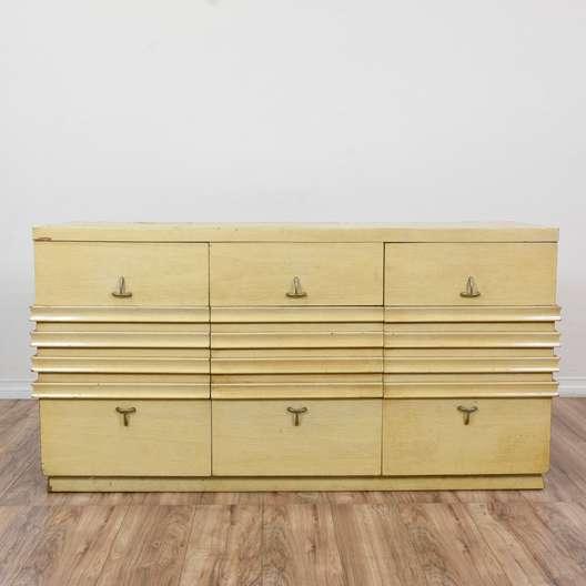 """""""Martinsville"""" Blonde Mid Century Modern Dresser"""