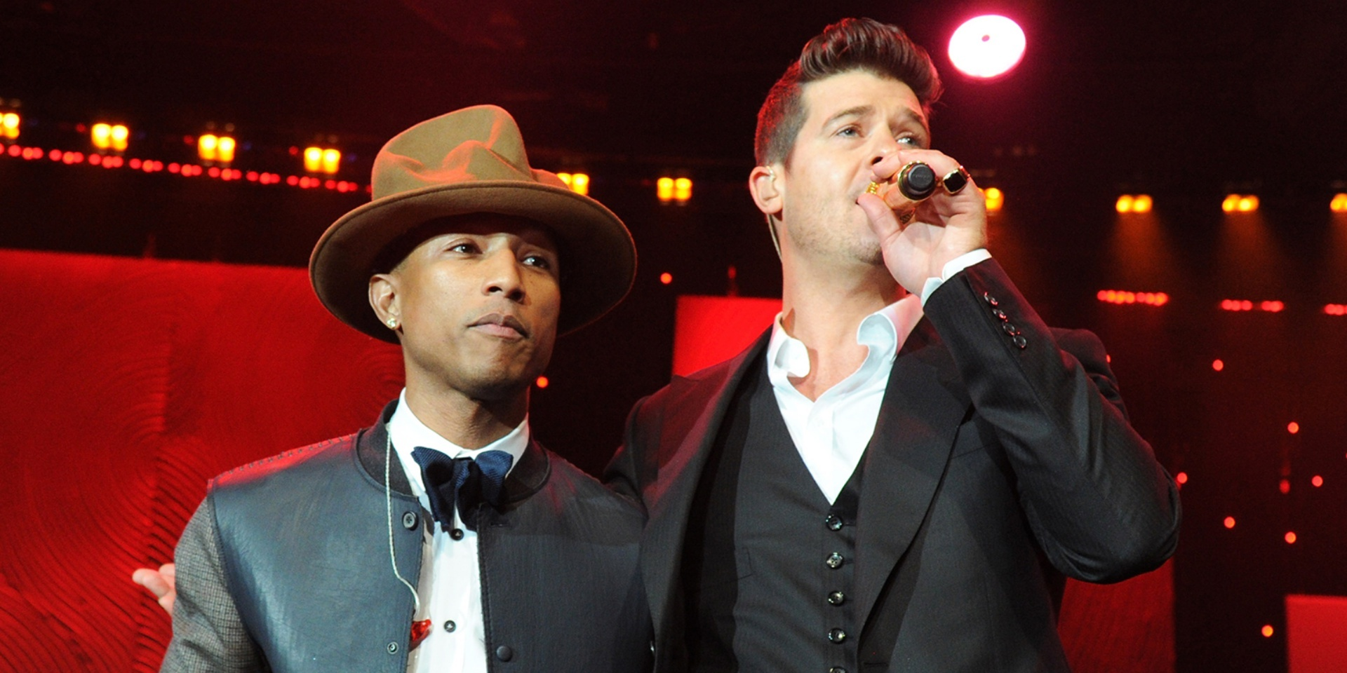 Robin Thicke and Pharrell Williams' 'Blurred Lines' copyright lawsuit concludes in a $5 million payout